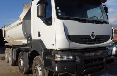 Camion 8x4 Benne Enrochement KERAX DXI13 520 DXI