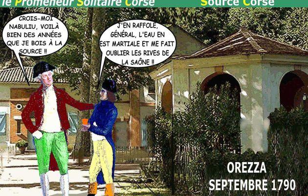 BONAPARTE À AUXONNE ou le Promeneur Solitaire Corse n° 10 - du 1er décembre 2017 (J+3271 après le vote négatif fondateur)