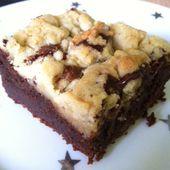 Recette du brookies : Rencontre entre un brownie et des cookies - Confidences de maman