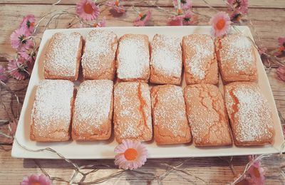 Biscuits roses de Reims au Thermomix