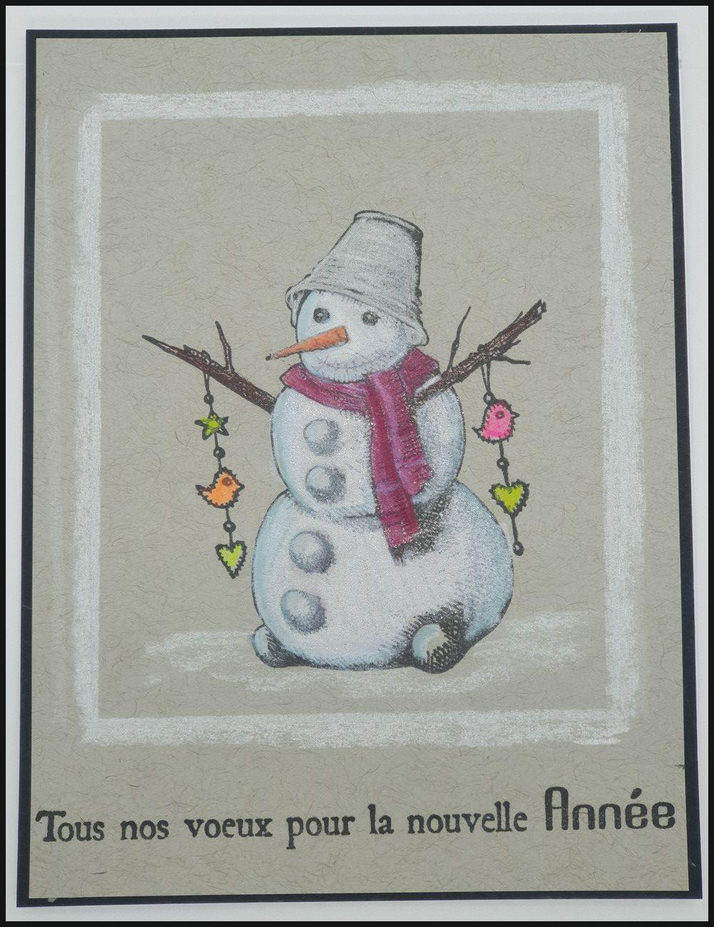 des cartes hivernales