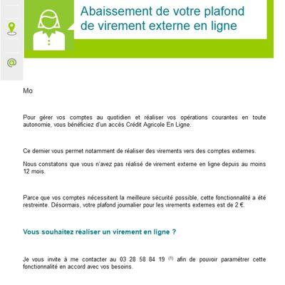 #FRANCE : #CREDIT AGRICOLE DONNE DE GRAVES SIGNES DE FAIBLESSES - SITUATION FRENCH #BANKS