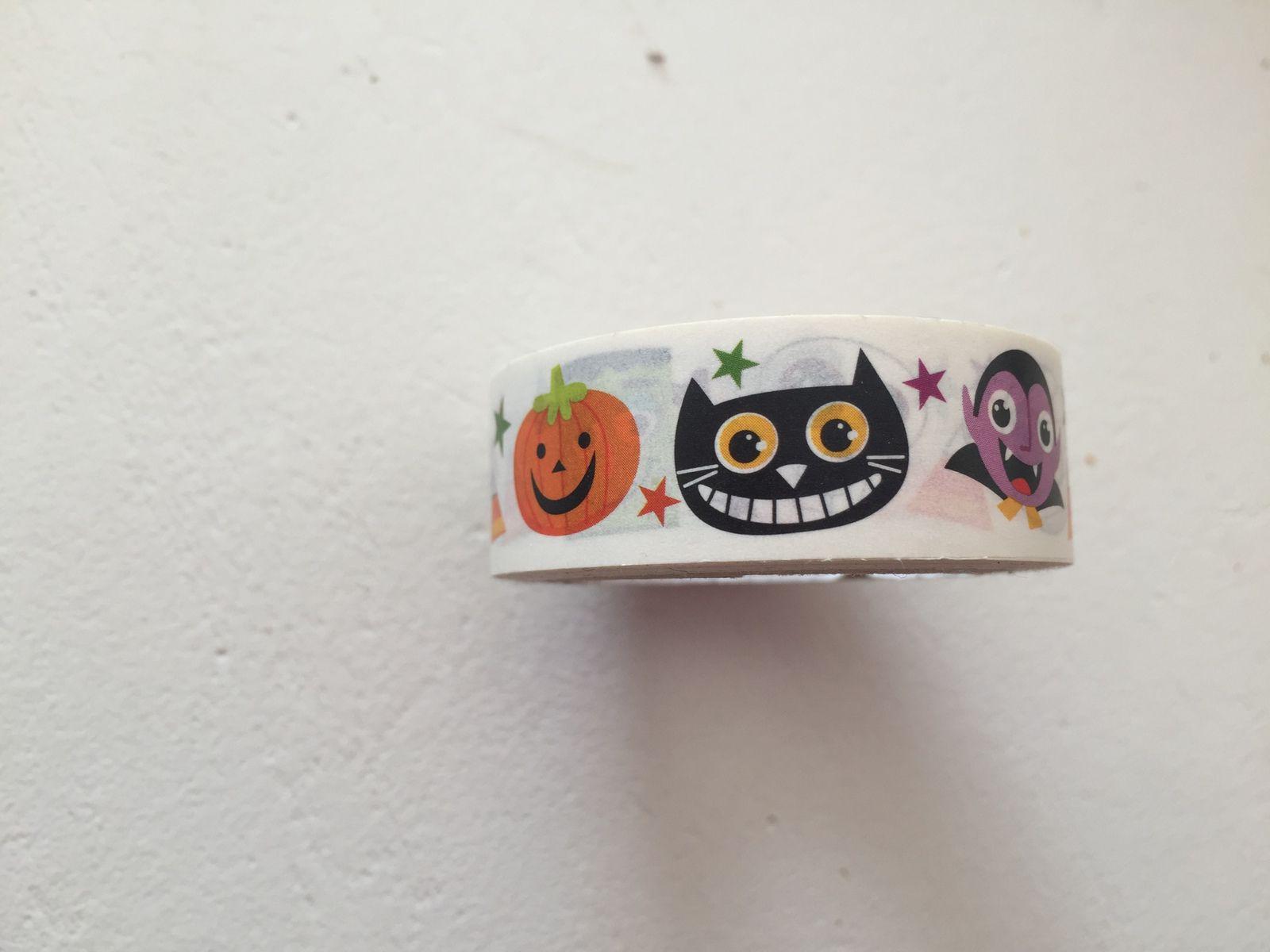 masking tape halloween  sur charlotteblabla blog
