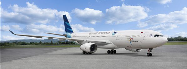 Inmarsat signs contract to provide Indonesian national carrier Garuda with GX Aviation inflight broadband