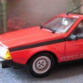 FASCICULE N°86 RENAULT FUEGO TURBO 1983 ROUGE UNIVERSAL HOBBIES 1/43 EDITEUR M6 - car-collector.net