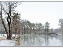Le tour du plan d'eau de St Macoux en hiver........