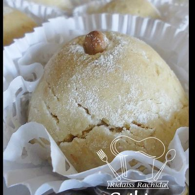 Ghribiya by jeljlen (Mantecaos aux grains de sésame)