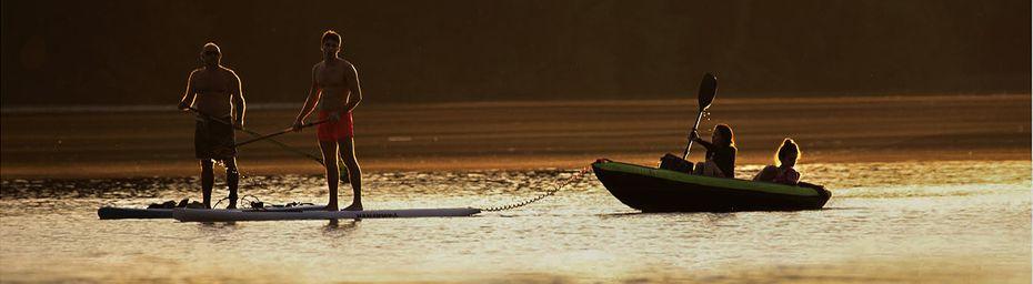 Sur l'eau...