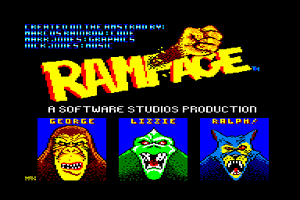 Let's Play Amstrad CPC - Aaargh ! + Rampage
