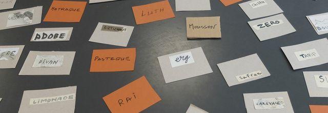 L'exposition Diwãn des mots voyagés à Limoges