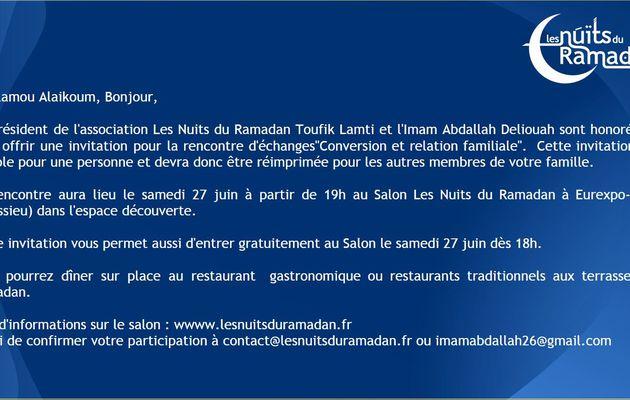 Les nuits du Ramadan pour les familles des convertis