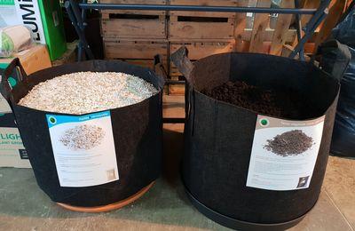 ventes en vrac pour jardineries : la gamme organique Terralba