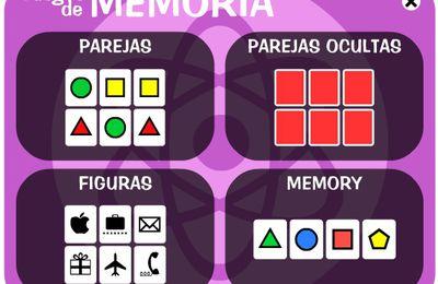 Juegos de memoria, lógica...