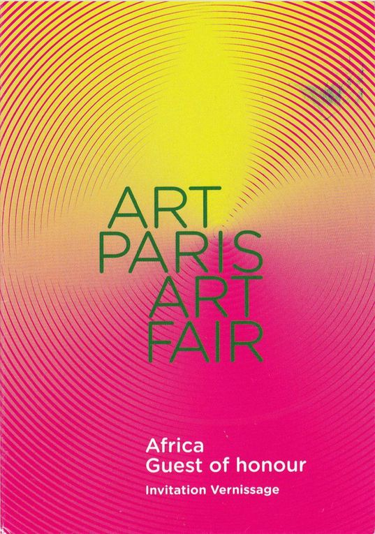 À VOIR ET À FAIRE : ART PARIS ART FAIR