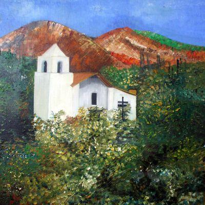 La chapelle de Purmamarca en Argentine