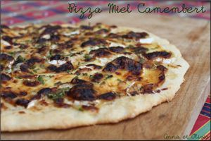 Pizza miel camembert