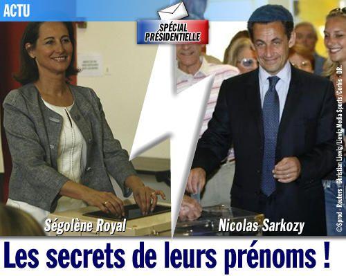 SPÉCIAL PRÉSIDENTIELLE / Les secrets de leurs prénoms !