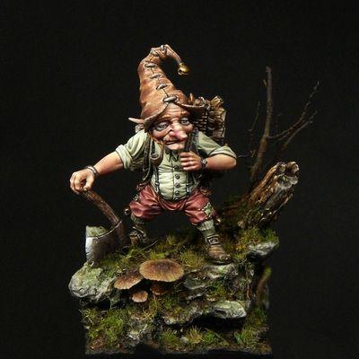 Lutin bucheron - Blacksmith Miniatures