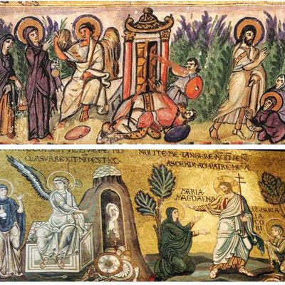 """Mary called """"Magdalene"""" is Mary, mother of Jesus: Iconographic evidences"""