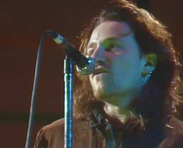 U2 -Unforgettable Fire Tour -17/05/1986 -Dublin -Irlande -R.D.S. Arena