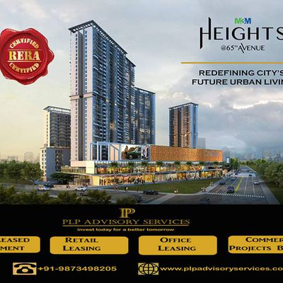M3M Heights Sector 65 Gurgaon-2/3Bhk apartments by M3M Ltd