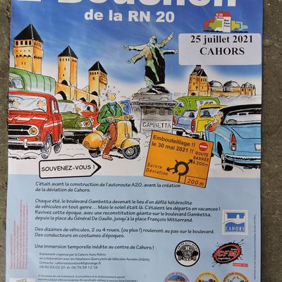 Embouteillage a Cahors
