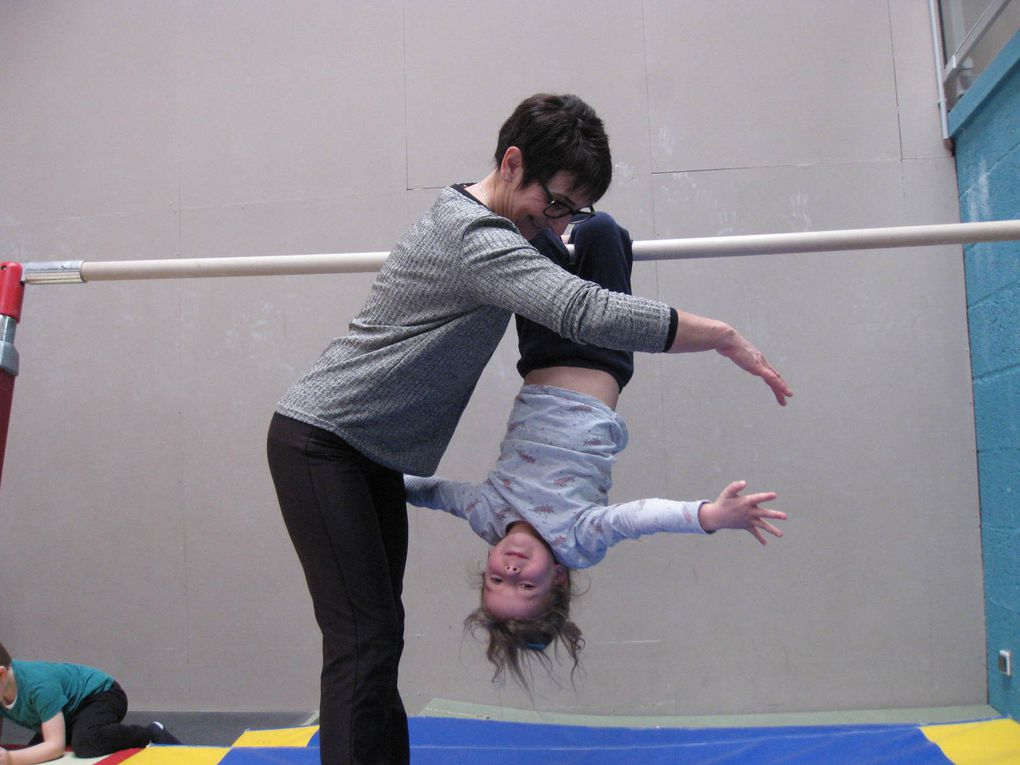 MS : 1ère séance pour les gymnastes