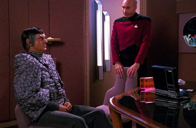 Star Trek TNG 3x10 Le transfuge (The Defector)