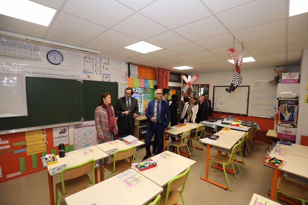 Inauguration de la rénovation de l'école d'Hautot-sur-Seine