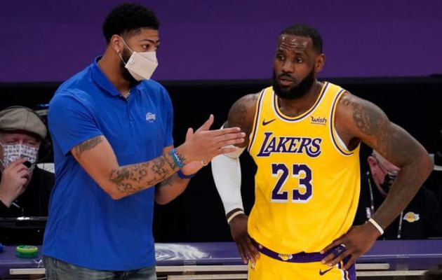 Anthony Davis (Lakers) : « On est l'équipe à battre »
