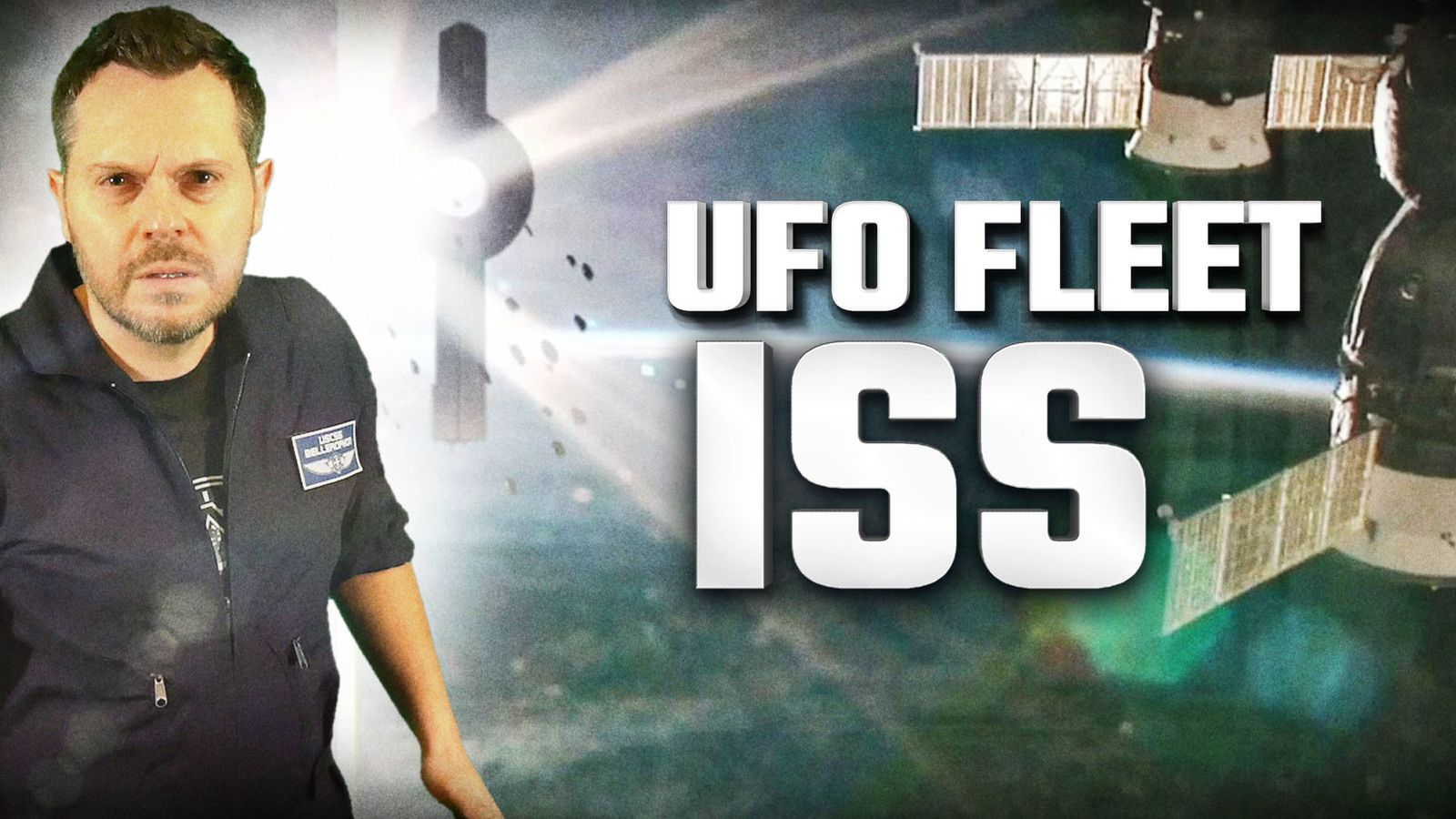 👽 Did Huge Fleet of UFOs Really Fly Over ISS ?