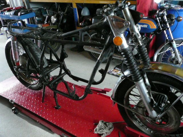Restauration Honda 750 K2