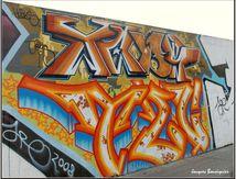 Couleurs de Paris : graffitis rue Ordener