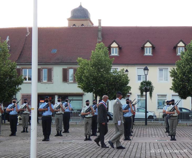 Cérémonie 13 juillet 2021 à Neuf-Brisach