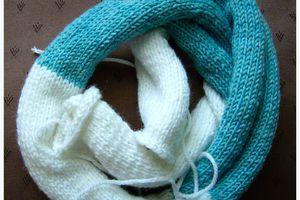 une bande de tricot !