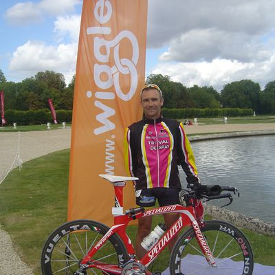 Un petit tour par Chantilly pour le Castle triathlon series