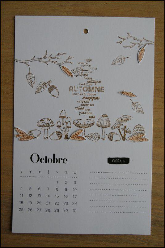 Mylène : Mon calendrier 2021