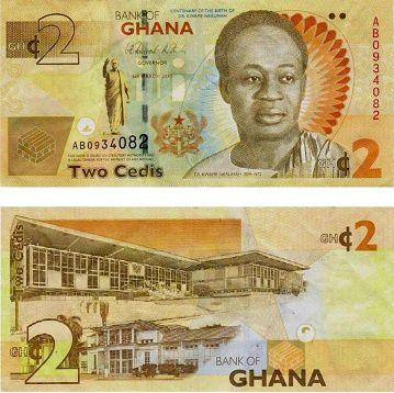 El Cedi es la moneda divisa de Ghana.- El Muni.