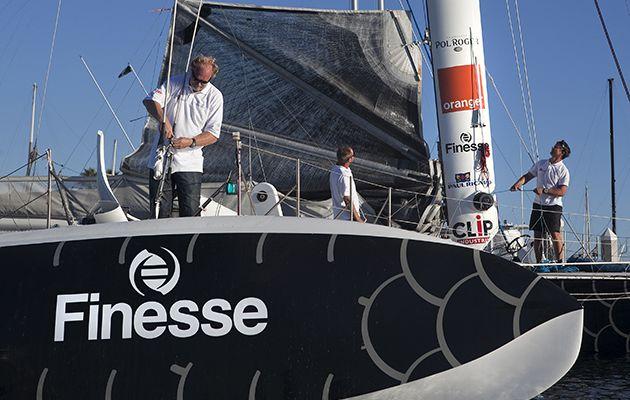 Nouveau partenaire et nouvelles ambitions pour l'Hydroptère, le voilier volant