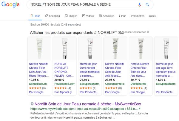 comparatif de prix (prix relevés le 18/12/2019) - captures d'écran de sites divers - tous droits réservés