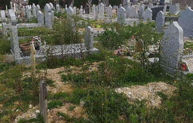 Opération redonner une vie au cimetière du Sud de Châlons en Champagne (51)