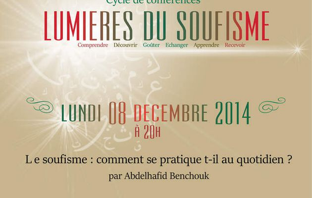 Conférence soufisme Galerie Artes & Adab