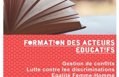 Formation des acteurs éducatifs  - second semestre 2021