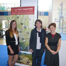 Saint André les Alpes : l'Office de Tourisme en bonne place à la foire de Nice