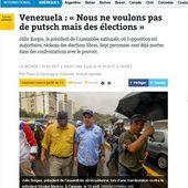 """"""" Le Monde """" lâché par la BBC : Stephen Sackur démasque la droite vénézuélienne et ses rêves de coup d'État -- Thierry DERONNE"""
