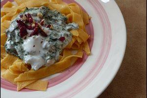 Bourani Esfenaj - Epinards au yaourt à l'iranienne