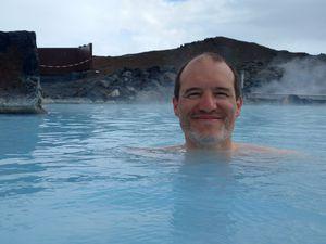 Un vrai bonheur, on a eu du mal a sortir de l'eau tellement on y était bien je comprend que les Islandais en soit fans !