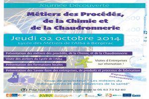 Journée Découverte : les métiers de la Chimie et de la Chaudronnerie
