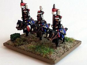 Des compléments pour la cavalerie légère de la Garde.