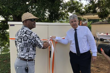 Martinique : Orange Caraïbe et la ville de Ducos inaugurent un point de mutualisation !